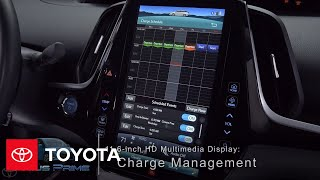 Download Toyota How-To: Prius Prime Charge Management – 11.6-inch HD Multimedia Display | Toyota Video