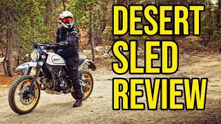 Download 2019 Ducati Scrambler Desert Sled (Owner Review) Video