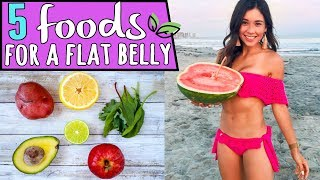 Download 5 FOODS FOR A FLAT BELLY Video