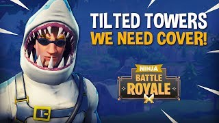 Download Tilted Towers: We Need Cover!! - Fortnite Battle Royale Gameplay - Ninja Video