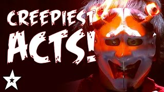 Download CREEPIEST Got Talent Acts EVER! | HALLOWEEN'S GOT TALENT! Video
