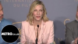 Download Cate Blanchett shuts down sexist reporter at Cannes | Metro.co.uk Video