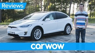 Download Tesla Model X 2018 electric SUV review | Mat Watson Review Video