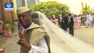 Download VP Osinbajo Gives Damilola To Oluseun Bakare In Marriage |Metrofile| Video