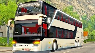 Download Setra 431DT Bus Mod ETS2 (Euro Truck Simulator 2) Video