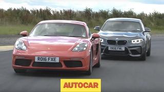Download Porsche 718 Cayman S vs BMW M2 | Track Shootout | Autocar Video
