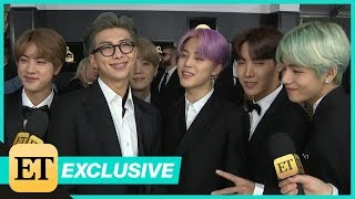 Download BTS Wants To Meet Lady Gaga, Travis Scott at First-Ever GRAMMYs (Exclusive) Video