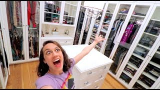 Download CLEANING MY HUGE CLOSET FOR THE FIRST TIME! Video