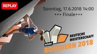 Download Finale - Deutsche Meisterschaft Bouldern 2018 Video