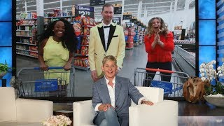 Download Ellen Sends Fans on a Scavenger Hunt in 'Aisle Make You Rich!' Video