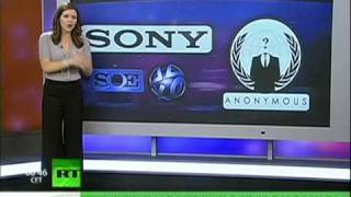 Download Sony blames Anonymous for hack Video