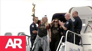 Download Las campeonas del mundo regresan a casa Video