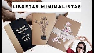 Download DIY- LIBRETAS CON ESTILO MINIMALISTA Video