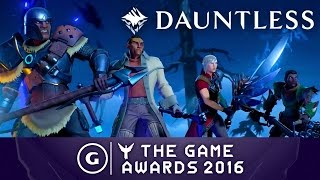 Download Dauntless Announcement Trailer | The Game Awards 2016 Video
