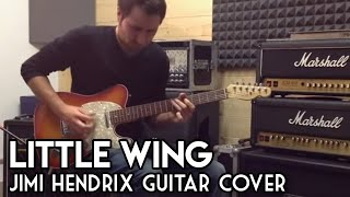 Download Little Wing - Jimi Hendrix - Guitar cover with my free solo Video
