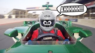 Download We nearly WRECKED an F1 CAR our first time driving! Video