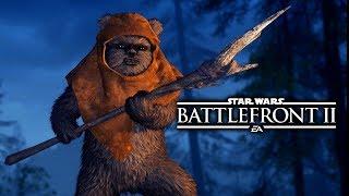 Download Star Wars Battlefront 2 - Funny Moments #12 Ewok Hunt Video