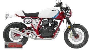 Download Stallions Buccaneer 250i - Italjet V 2 สูบ 250 cc กระชากใจ Street Tracker : motorcycle news tv Video