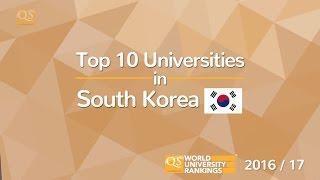 Download Top 10 Universities in South Korea 2016/17 Video