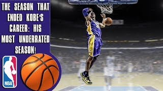 Download The season that ended Kobe Bryant's career: His most underrated season ever Video