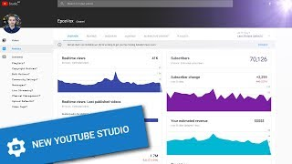 Download New YouTube Studio BETA! - New material design, but something's missing...... Video