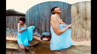 Download 女子二人旅!日帰り屋上露天風呂!【360VR温泉美人】 #10 岡山県湯原温泉★Japan's hot springs Bathing Japanese Beauty Video