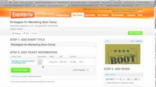 Download How To Promote: An Event Thru EventBrite Video