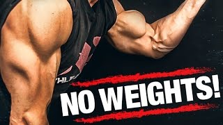 Download Arm Workout WITHOUT Weights (BICEPS AND TRICEPS!!) Video