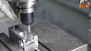 Download CNC Machining Steel Bracket with Tormach PCNC Mill - MFG@Home! Video
