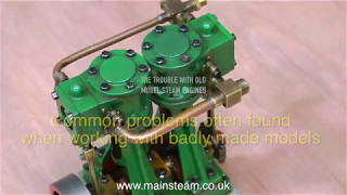 Download THE TROUBLE WITH OLD MODEL STEAM ENGINES Video