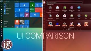 Download Windows 10 vs Linux | UI Comparison Video