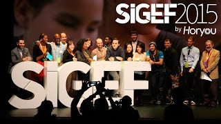 Download SIGEF 2015 at a glance by Horyou Video