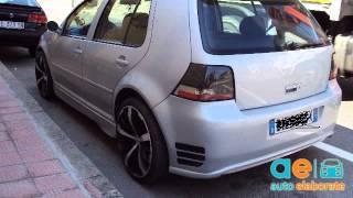 Download VolksWagen Golf IV cv 116 Tuning Video