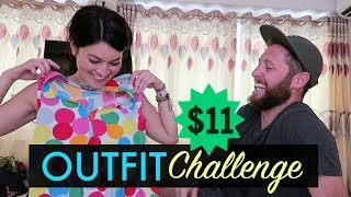 Download $11 COUPLES OUTFIT CHALLENGE // Hanoi, Vietnam Video