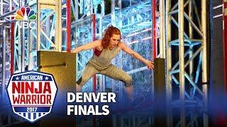 Download Jeri D'Aurelio at the Denver City Finals - American Ninja Warrior 2017 Video