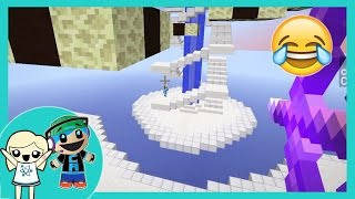 Download Minecraft - Knockback Madness Mini Realm Game - So much LOL with Cybernova Video