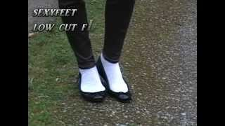 Download low cut flats and socks Video