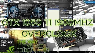 Download Overclocking A GTX 1050 Ti To 1911Mhz Boost (6 Pin Power Version) Video