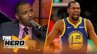 Download Kenyon Martin explains KD saying LeBron creates a toxic playing environment | NBA | THE HERD Video