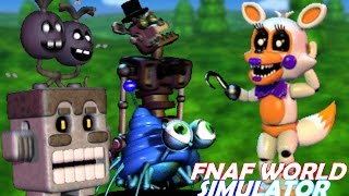 Golden Freddy Plays: FNAF World #23    FIGHTING THE ULTIMATE