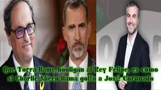 Download ALSINA: Que Torra llame hooligan al Rey Felipe, es como si Charlie Sheen llama golfo a José Coronado Video