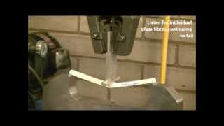 Download Composite Beam - Long span length 3 point bend test Video