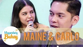 Download Maine and Carlo's message for each other | Magandang Buhay Video