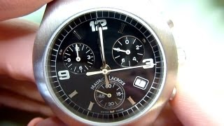 Download How to fit a new quartz watch movement. Watch repair techniques. ETA 251.262 chronograph Video