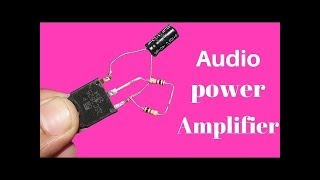 Download Wow! Make Big Amplifier 100Watt With D718 Transistor and Input 9Volt New Project 2018 Video