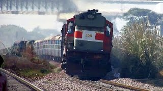 Download Fast Diesel Trains : Aggressive Diesel Monsters Rule this Section : Indian Railways Video