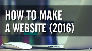 Download How to Make a WordPress Website 2016 - EASY! Video