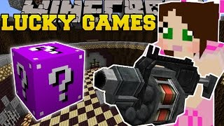 Download Minecraft: ROCKET LAUNCHERS EXPLOSIVE CHALLENGE GAMES - Lucky Block Mod - Modded Mini-Game Video