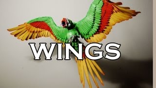Download How to make FABULOUS WINGS! Sculpture tutorial. Video