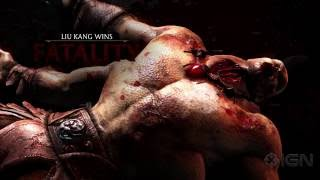 Download Mortal Kombat X: All Fatalities and X-Rays in 1080p 60fps Video